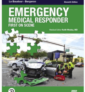 Emergency Medical Responder: First on Scene Text Book