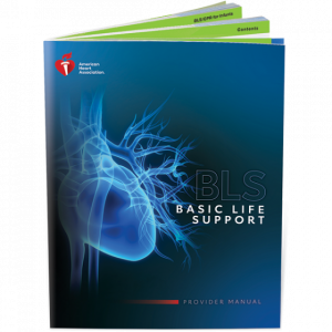 BLS CPR/AED Textbook (Health related careers) 2020 Updates; American Heart Association