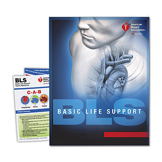 AHA BLS CPR/AED Textbook (Health related careers)